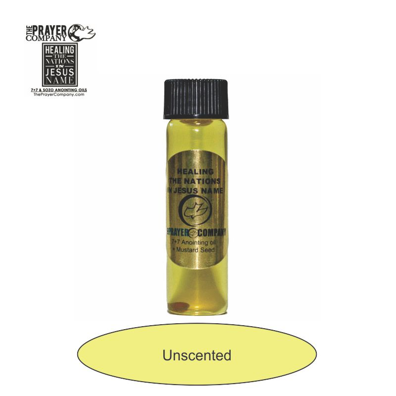 Unscented Anointing Oil - 1/4oz Standard Bottle