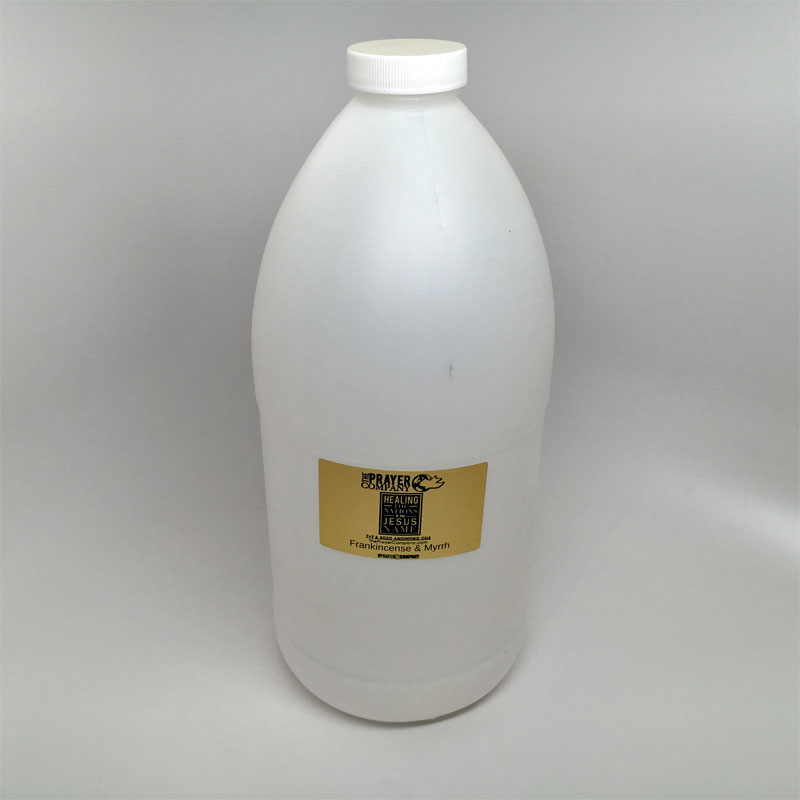 Anointing Oil - 1/2 gal Plastic Bottle