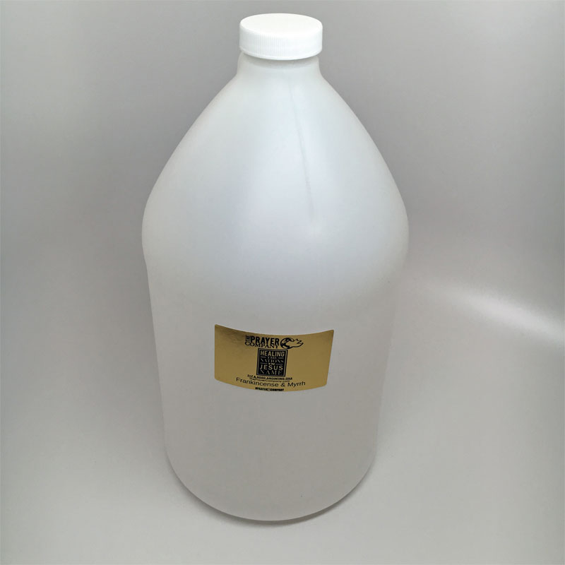 Anointing Oil - 1 gal Plastic Bottle
