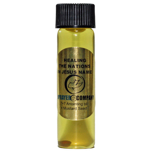 Anointing Oil - 1/4oz Standard Bottle