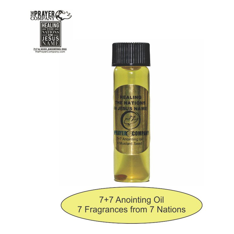 7+7 Anointing Oil - 1/4oz Standard Bottle