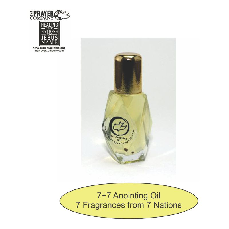 7+7 Anointing Oil - 1/4oz Diamond Bottle