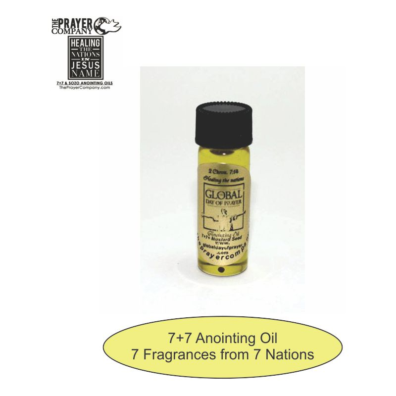 7+7 Anointing Oil - 1/8oz Standard Bottle