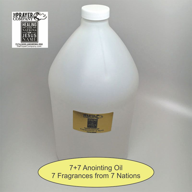 7+7 Anointing Oil - 1 gal Plastic Bottle