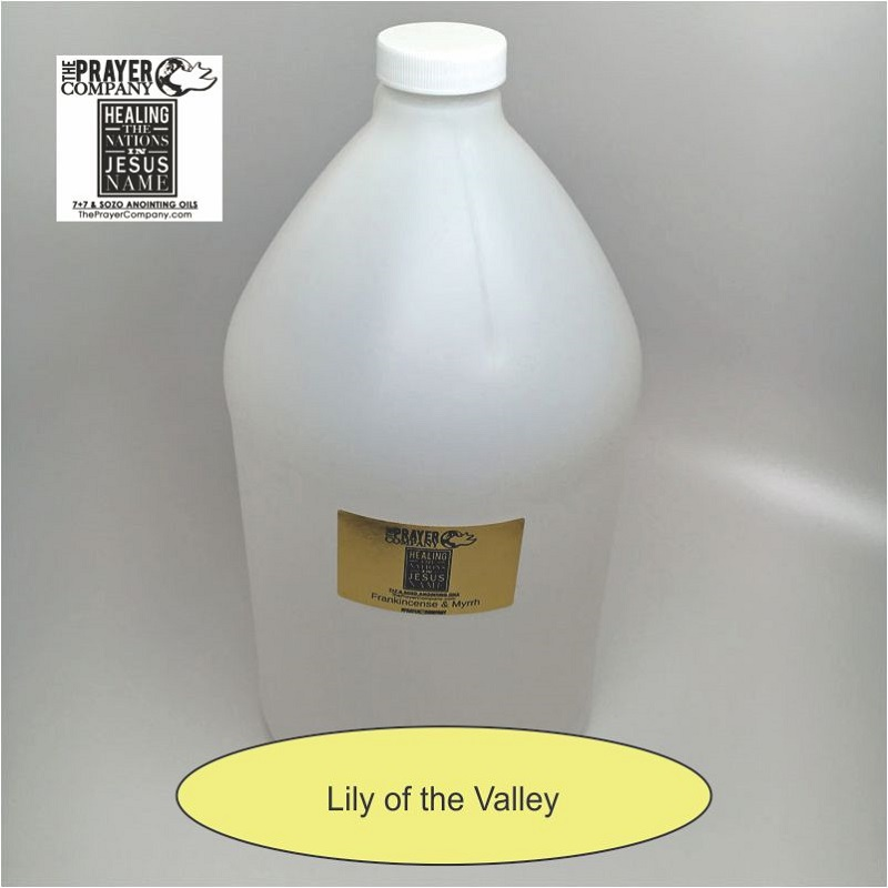 Lily of the Valley Anointing Oil - 1 gal Plastic Bottle