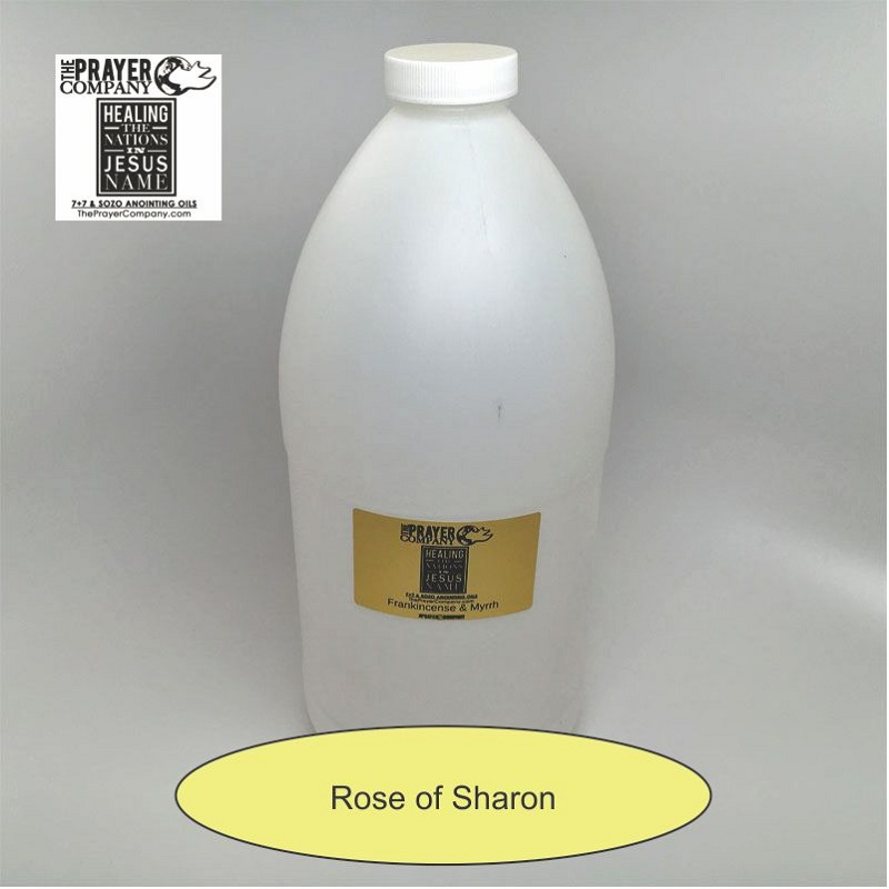 Rose of Sharon Anointing Oil - 1/2 gal Plastic Bottle