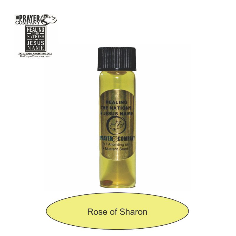 Rose of Sharon Anointing Oil - 1/4oz Standard Bottle