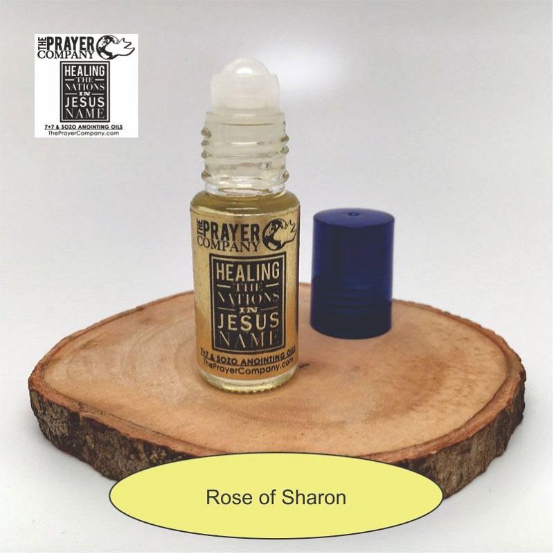 Rose of Sharon Anointing Oil - 1/6oz Roll-on Bottle