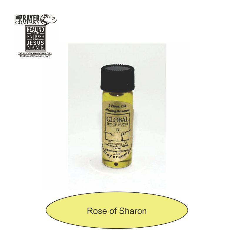 Rose of Sharon Anointing Oil - 1/8oz Standard Bottle