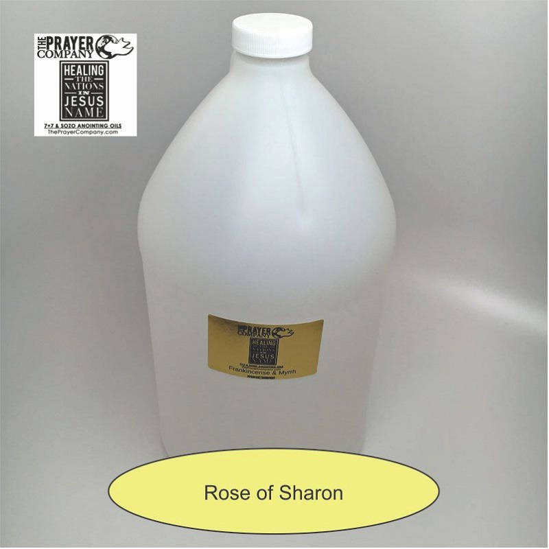 Rose of Sharon Anointing Oil - 1 gal Plastic Bottle