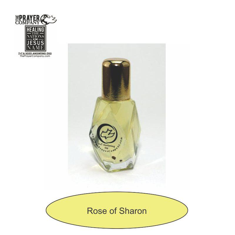 Rose of Sharon Anointing Oil - 1/4oz Diamond Bottle