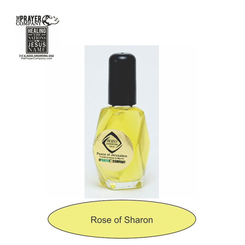 Rose of Sharon Anointing Oil - 1oz Diamond Bottle