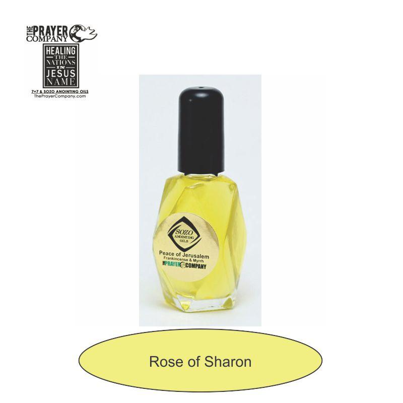 Rose of Sharon Anointing Oil - 1oz Diamond Bottle