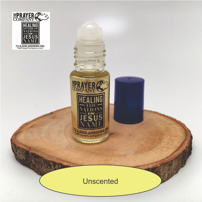 Unscented Anointing Oil - 1/6oz Roll-on Bottle