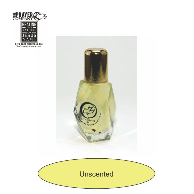 Unscented - Anointing Oil - 1/4oz Diamond Bottle