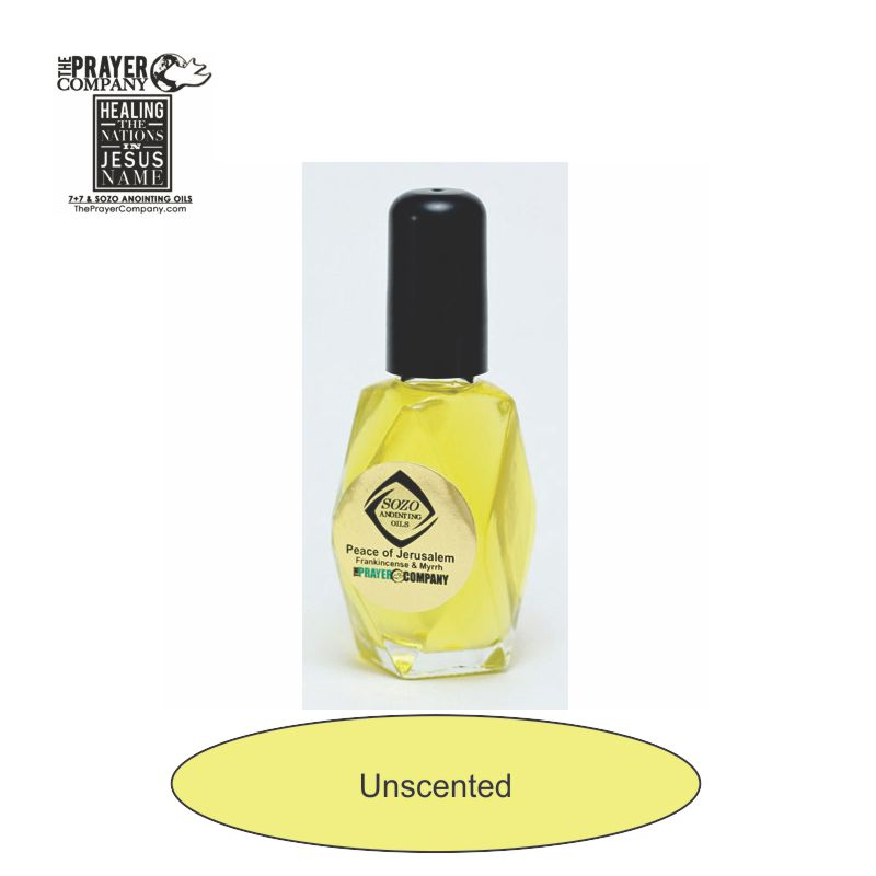 Unscented Anointing Oil - 1oz Diamond Bottle