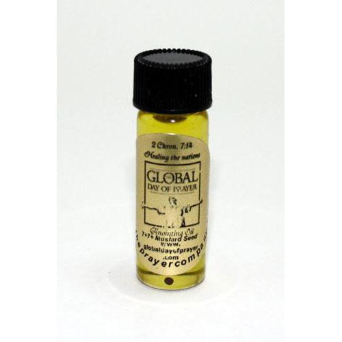 Global Day of Prayer Oil - 1/8oz Standard Bottle - 100pc