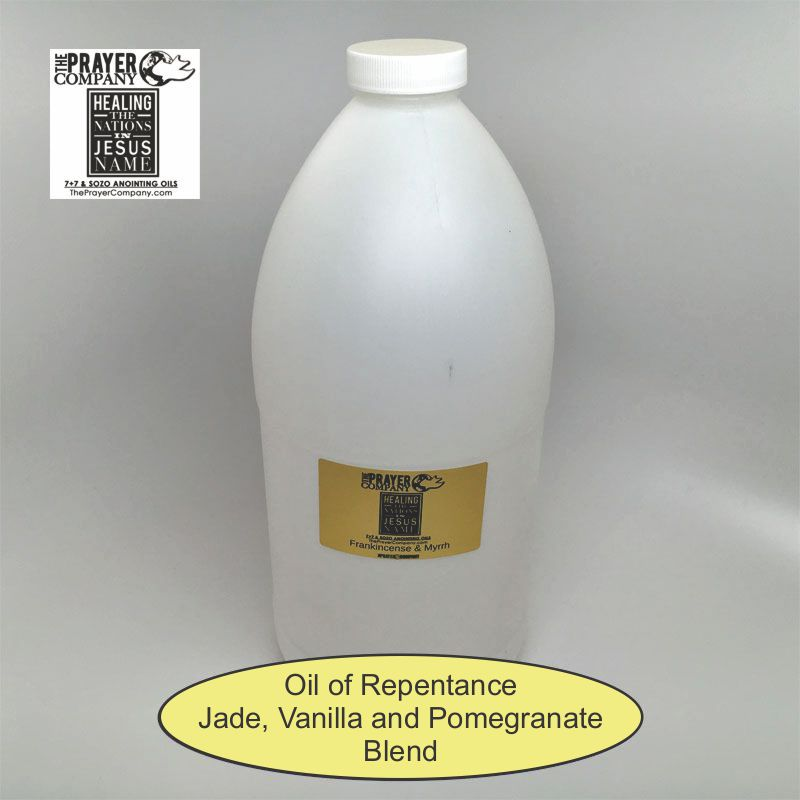 Oil of Repentance - 1/2 gal Plastic Bottle