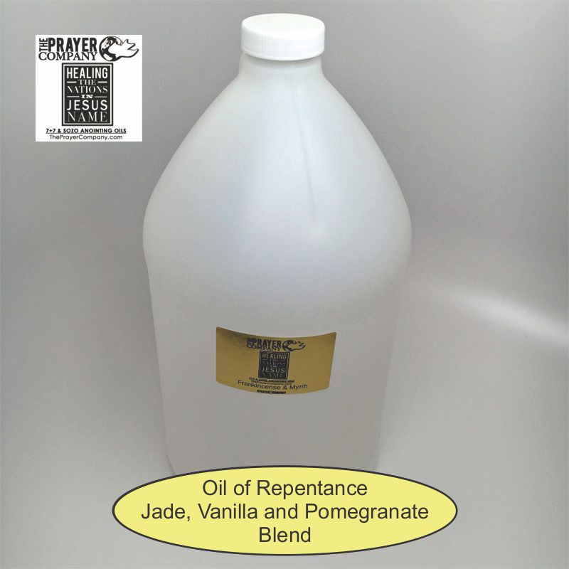 Oil of Repentance - 1 gal Plastic Bottle