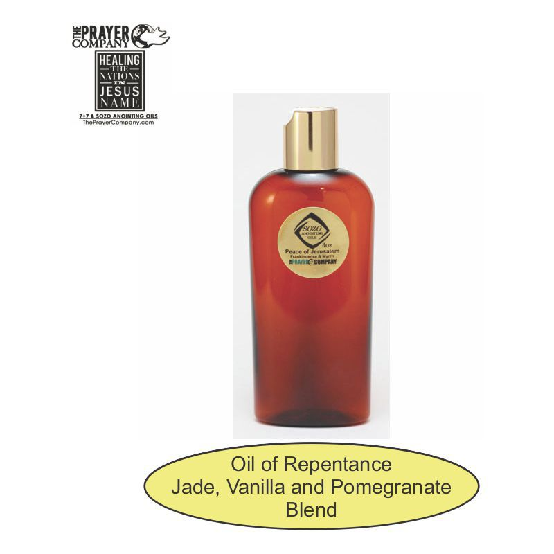 Oil of Repentance - 4oz Bottle